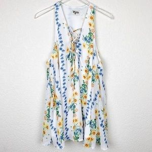 Show Me Your Mumu Rancho Dress - Sunflower print
